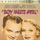 James Cagney, Pat O'Brien, Curt Bois, and Marie Wilson in Boy Meets Girl (1938)