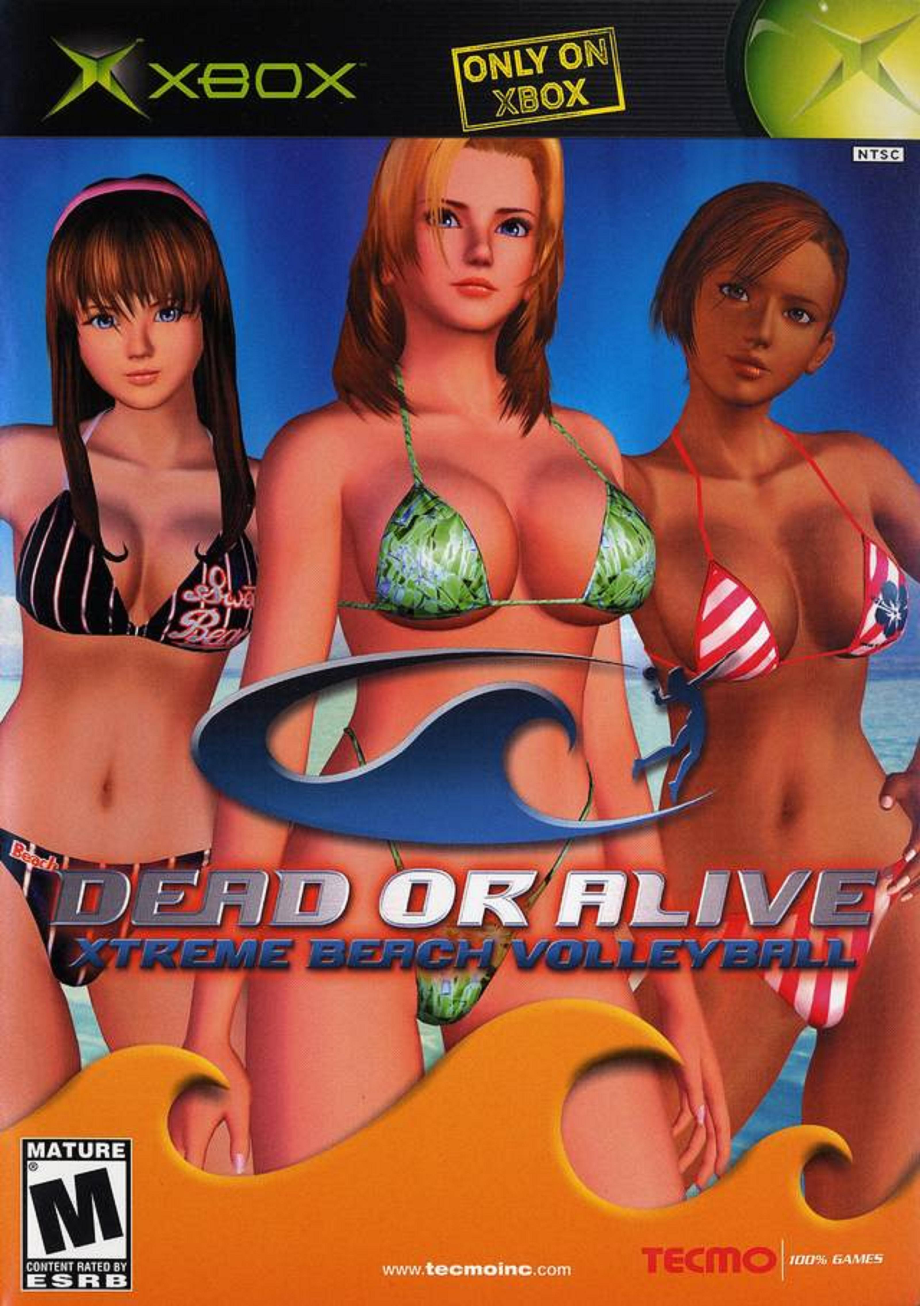 Dead Or Alive Xtreme Beach Volleyball Video Game 2003 Imdb