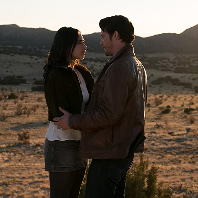 Nathan Parsons and Jeanine Mason in Roswell, New Mexico (2019)