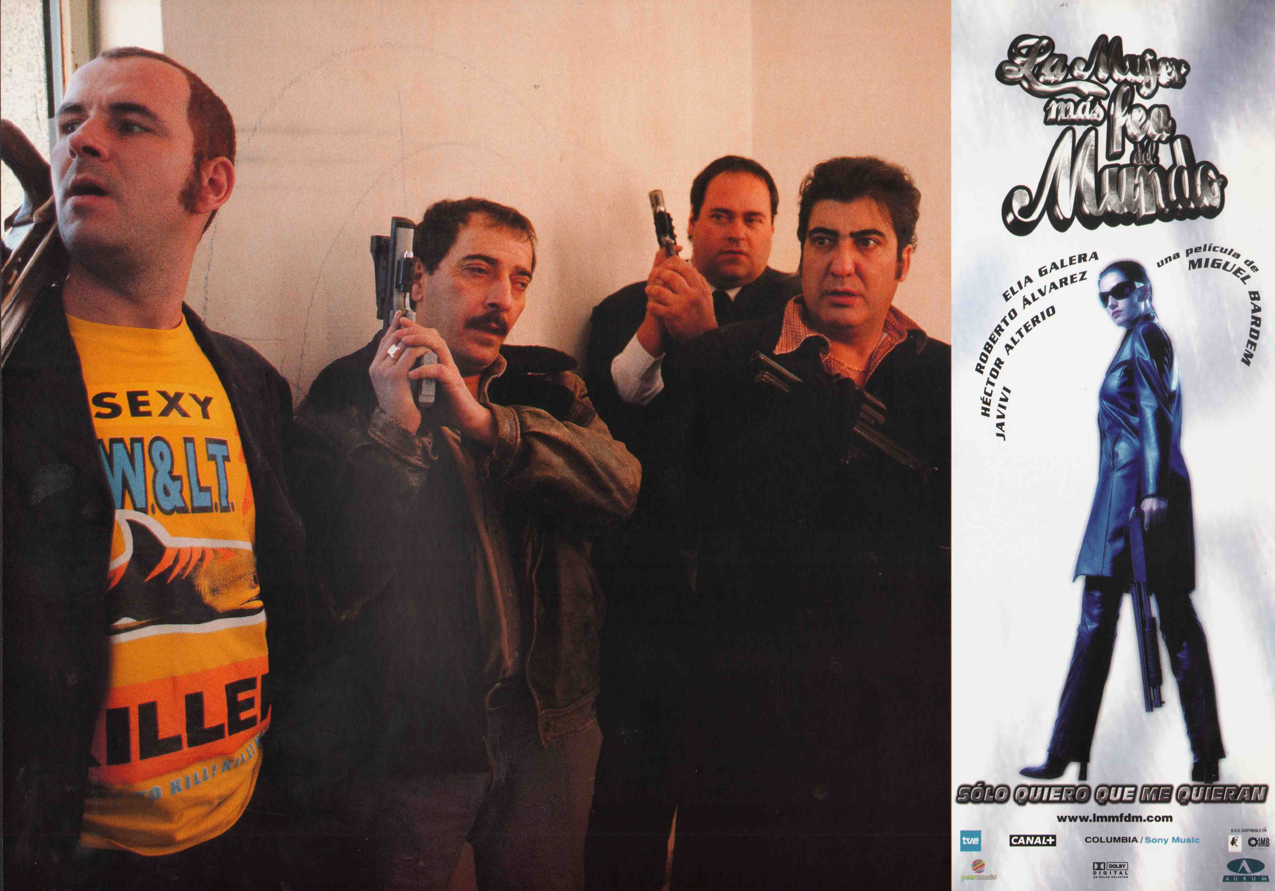 Elia Galera, Javivi, Guillermo Toledo, and Enrique Villén in La mujer más fea del mundo (1999)