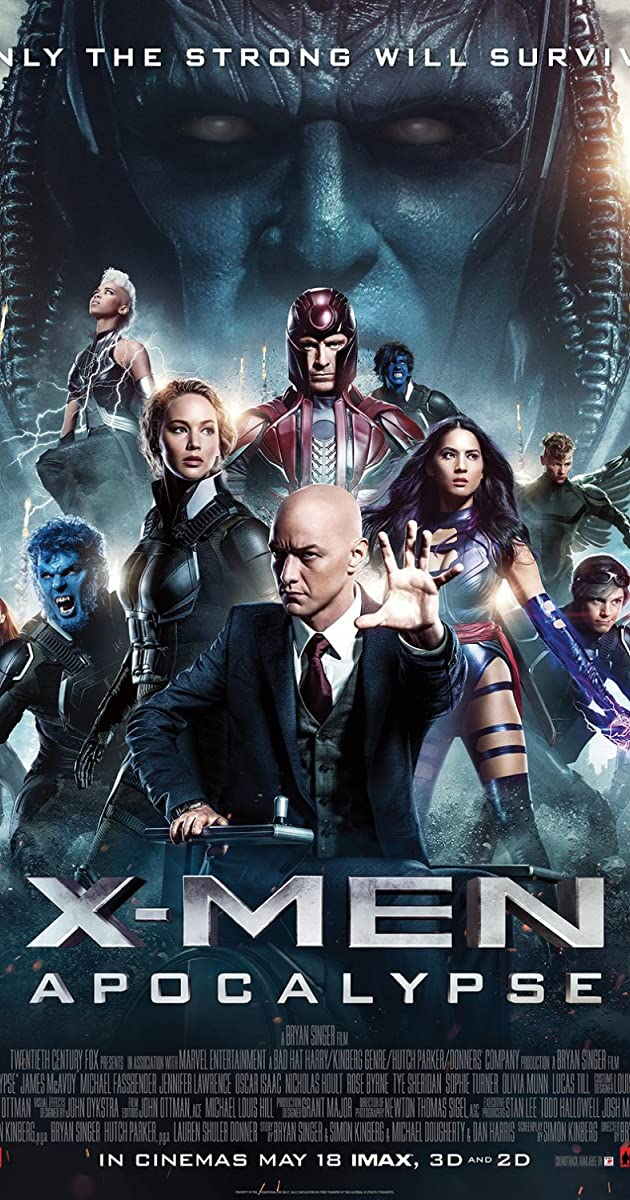 Subtitle of X-Men: Apocalypse