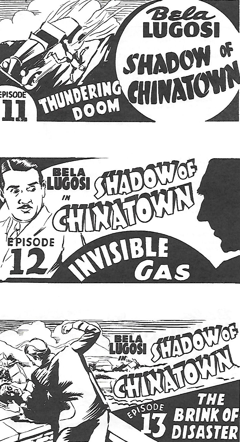Bela Lugosi and Charles King in Shadow of Chinatown (1936)