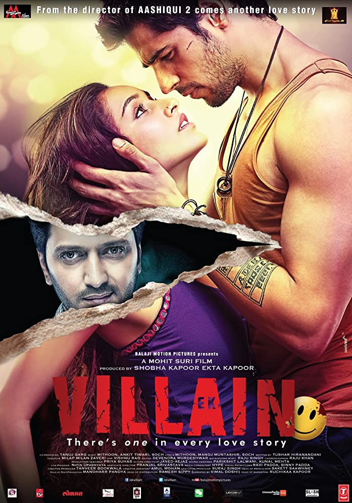 Ek Villain 2014 Hindi Movie 720p BluRay 950MB Download