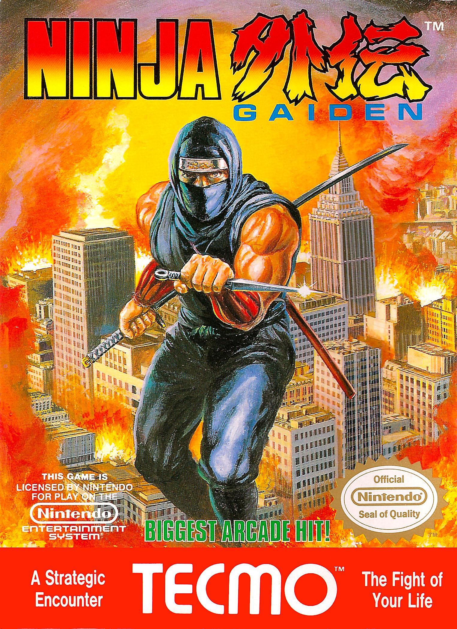 Ninja Ryu Ken Den Video Game 1988 Imdb