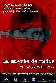 La mort de ningú: L'enigma Heinz Ches Poster