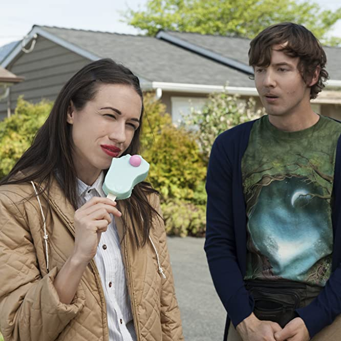 Erik Stocklin and Colleen Ballinger in Haters Back Off! (2016)