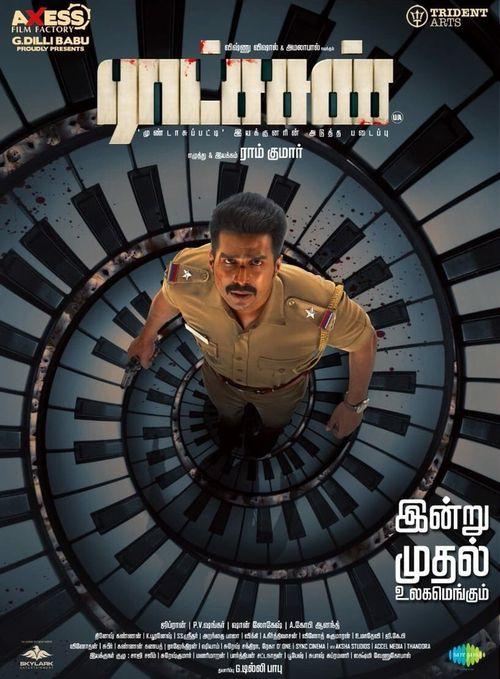 Ratsasan (2018) UNCUT 720p HEVC WEB-HDRip Esubs [Hindi-Tamil] Top Rated Indian Movies
