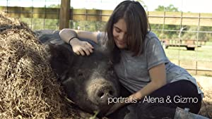 Alena and Gizmo