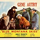 Gene Autry, John Beach, Smiley Burnette, Ted Mapes, and Bud Wolfe in Blue Montana Skies (1939)