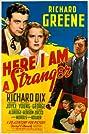 Here I Am a Stranger (1939) Poster