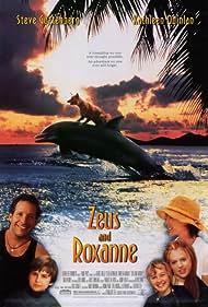 Steve Guttenberg, Kathleen Quinlan, George Miller, Majandra Delfino, Jessica Howell, and Miko Hughes in Zeus and Roxanne (1997)