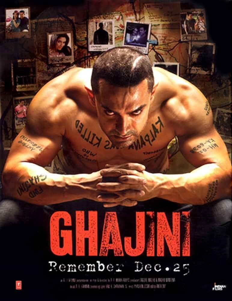Download Ghajini (2008) Hindi Full Movie BluRay 480p [400MB] | 720p [1.7GB] | 1080p [3GB]