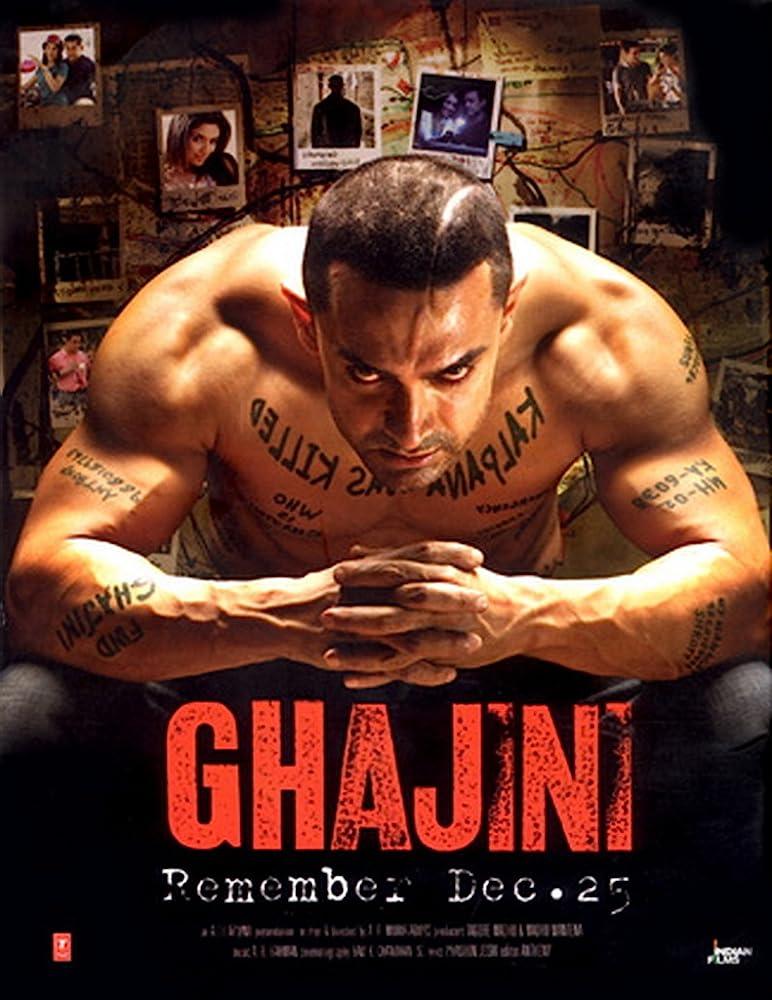 Ghajini (2008) Hindi BluRay x264 AAC Esub