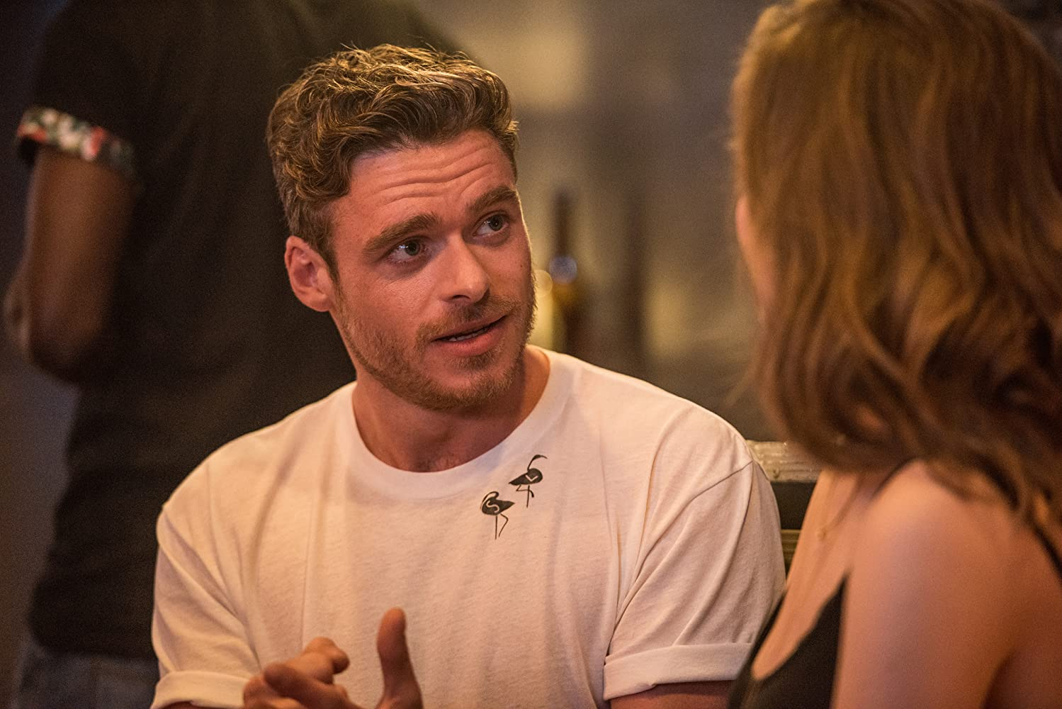 Richard Madden in Ibiza (2018)