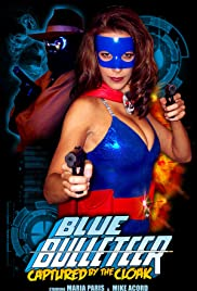 Blue Bulleteer: Captured by the Cloak Poster