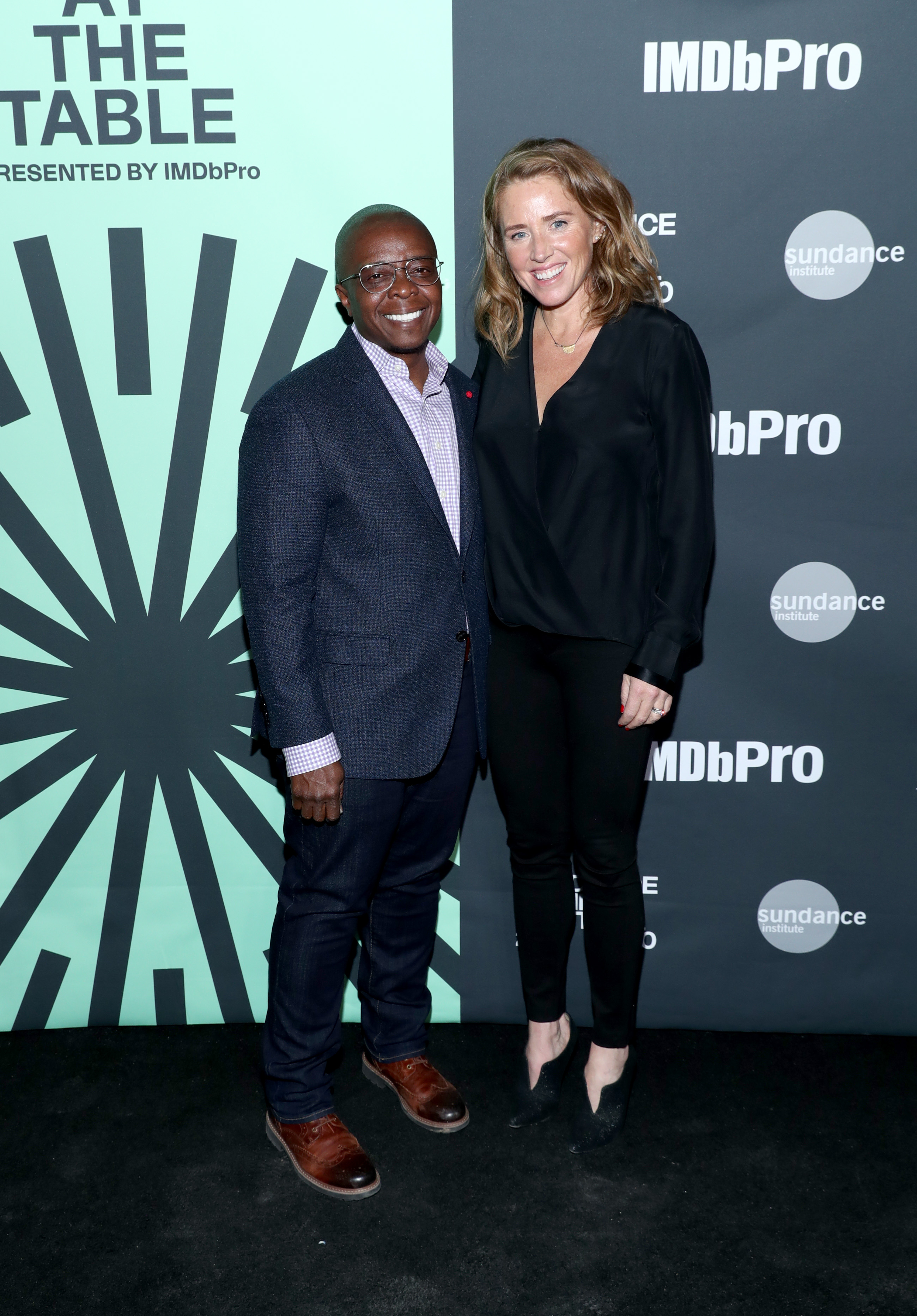 Amy Redford and Yance Ford