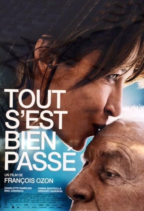 Sophie Marceau and André Dussollier in Tout s'est bien passé (2021)