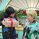 Noel Fielding and Sandi Toksvig in The Great British Bake Off (2010)