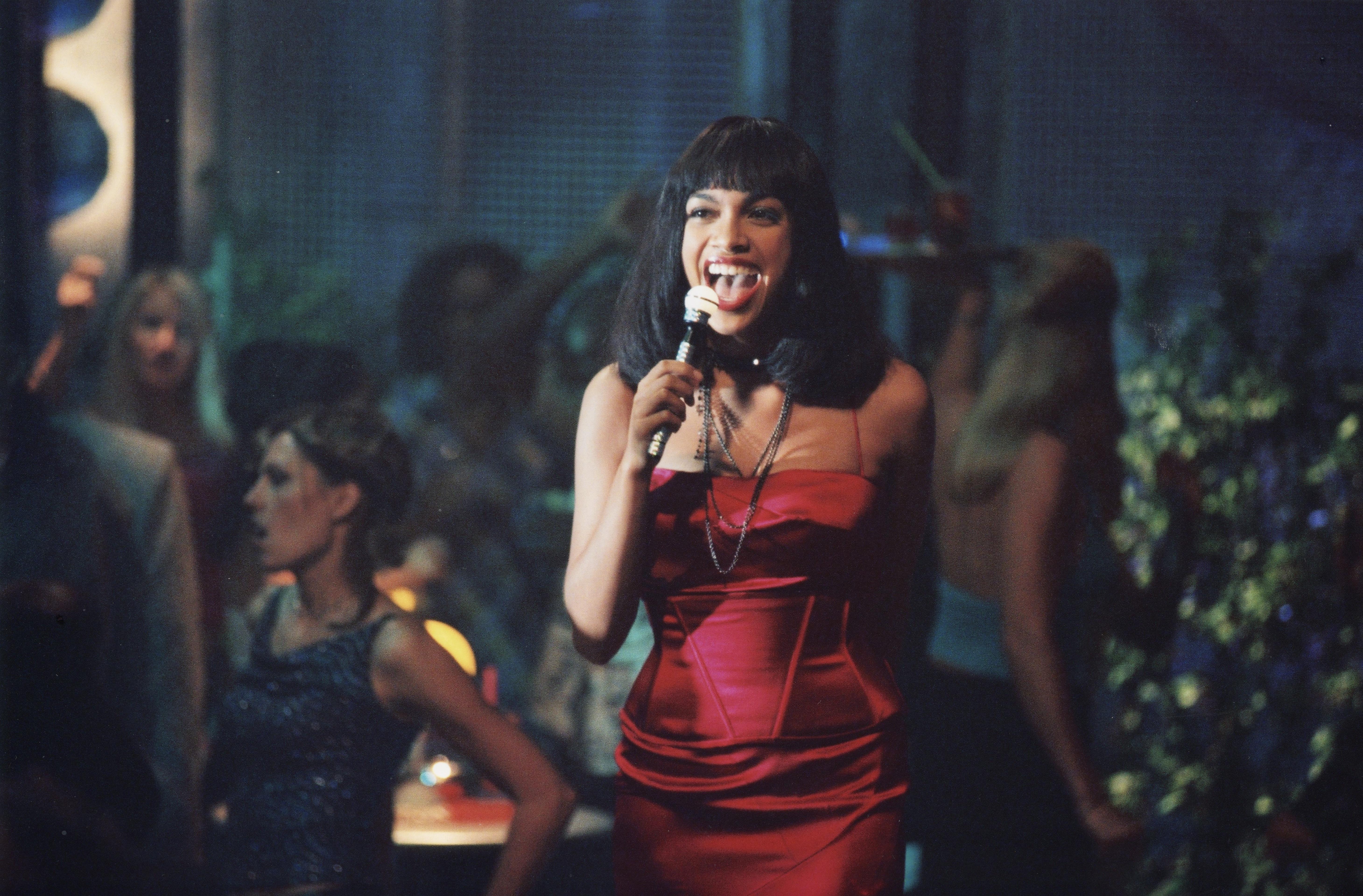 Rosario Dawson in The Adventures of Pluto Nash (2002)