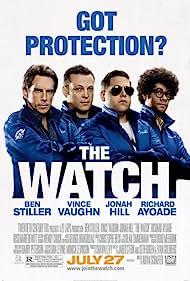 Vince Vaughn, Ben Stiller, Richard Ayoade, and Jonah Hill in The Watch (2012)