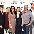 Andie MacDowell, Francesca Faridany, Chris O'Dowd, Juliet Rylance, James Adomian, and Dree Hemingway at an event for Love After Love (2017)