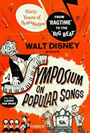A Symposium on Popular Songs Poster