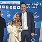 Sean Patrick Small and Kandace Cornell at an event for The Just (2018)