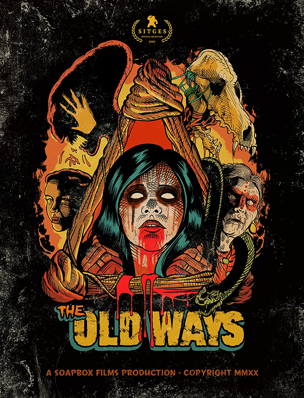 The Old Ways 2021 English 480p NF HDRip MSub 282MB Download