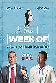 Adam Sandler, Chris Rock, Allison Strong, and Roland Buck III in The Week Of (2018)