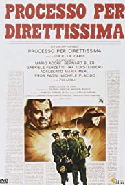 Processo per direttissima (1974) with English Subtitles on DVD on DVD