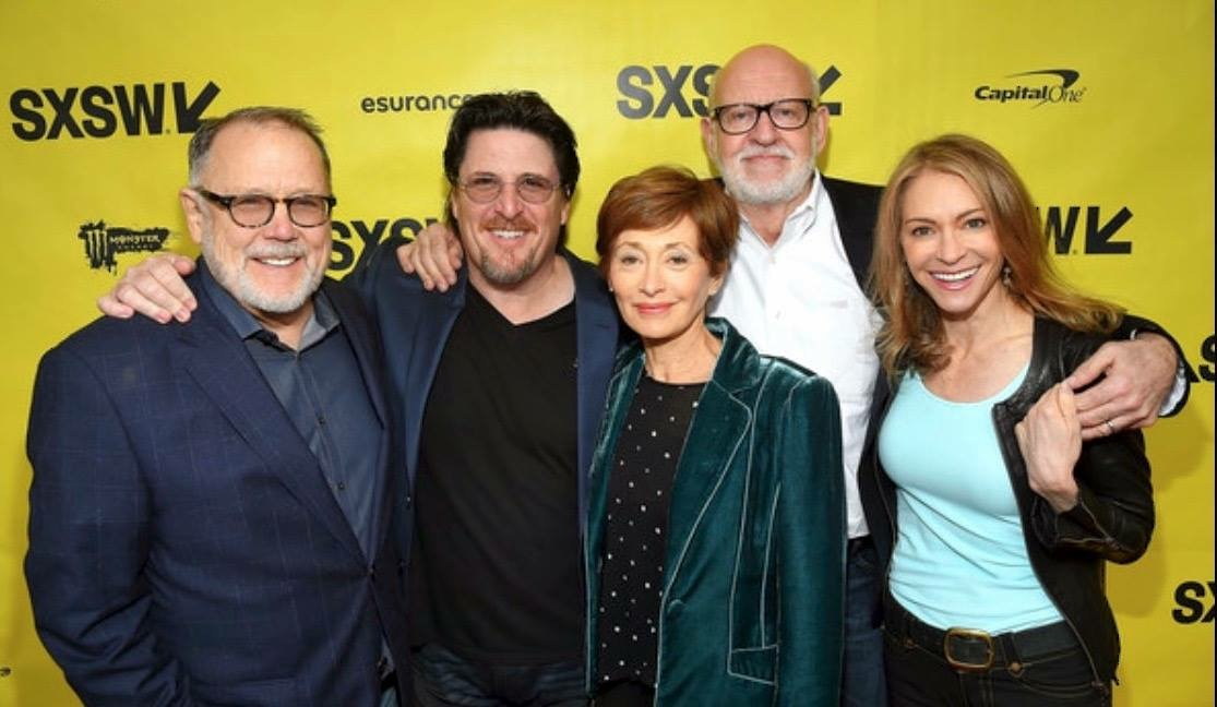 Frank Oz, Bill Barretta, Fran Brill, Dave Goelz, and Victoria Labalme at an event for Muppet Guys Talking: Secrets Behind the Show the Whole World Watched (2017)