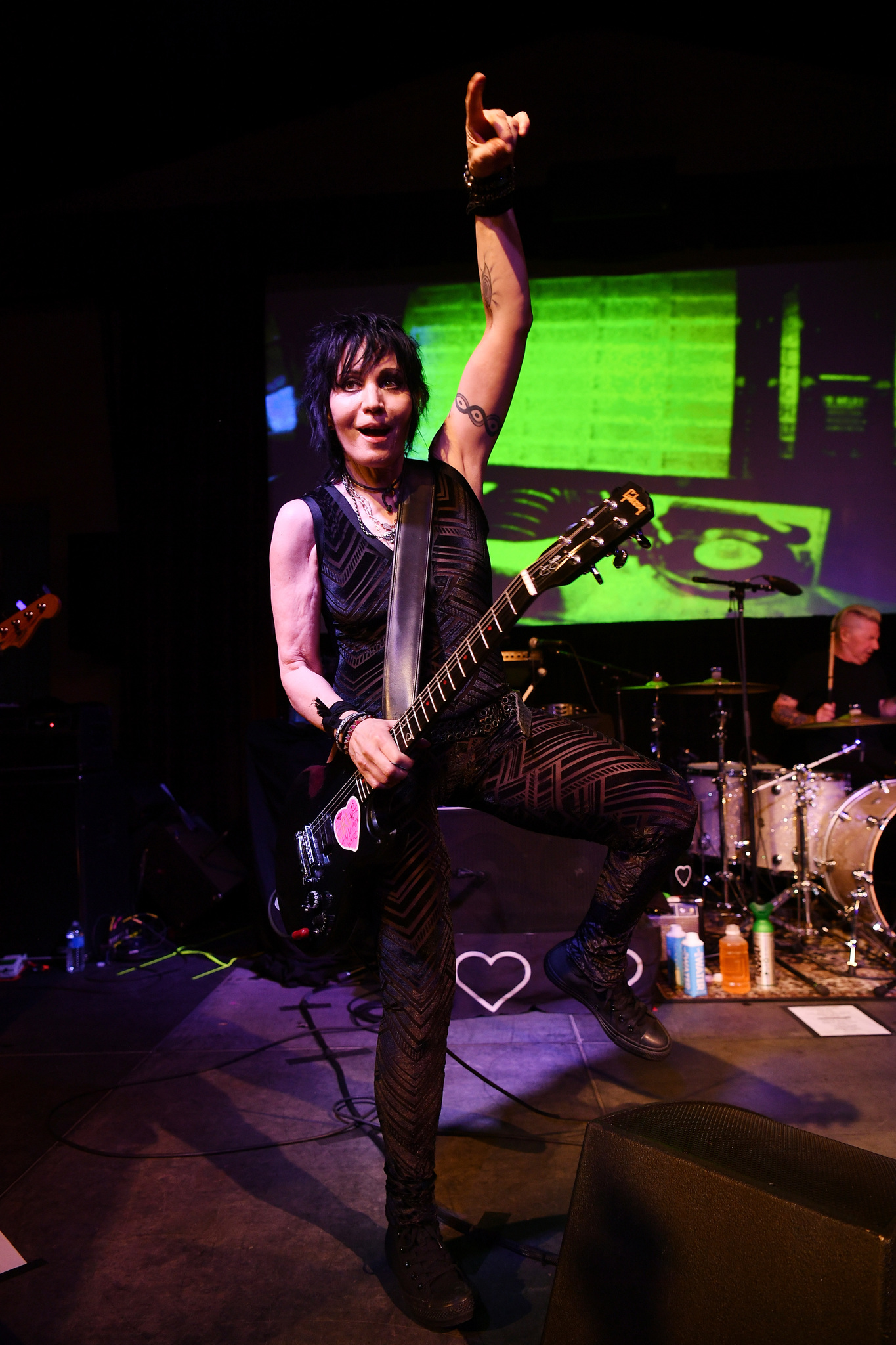 Joan Jett at an event for Bad Reputation (2018)
