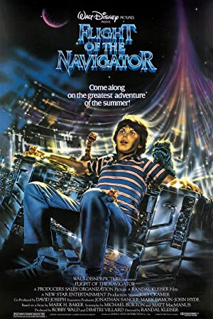Flight of the Navigator Poster Image