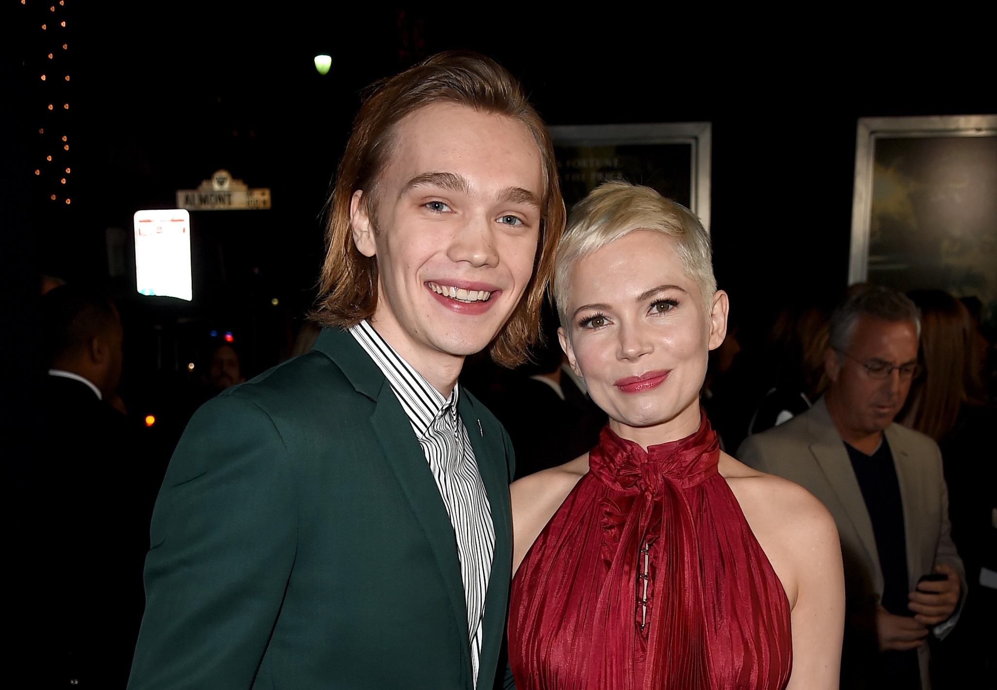 Michelle Williams and Charlie Plummer