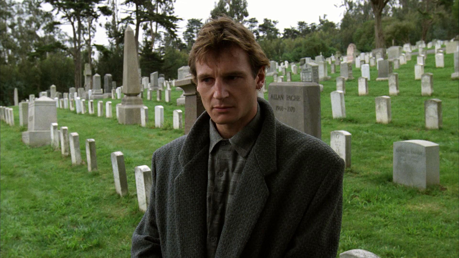 Liam Neeson in The Dead Pool (1988)
