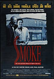 Smoke(1995) Poster - Movie Forum, Cast, Reviews