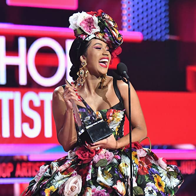 Cardi B at an event for American Music Awards 2018 (2018)