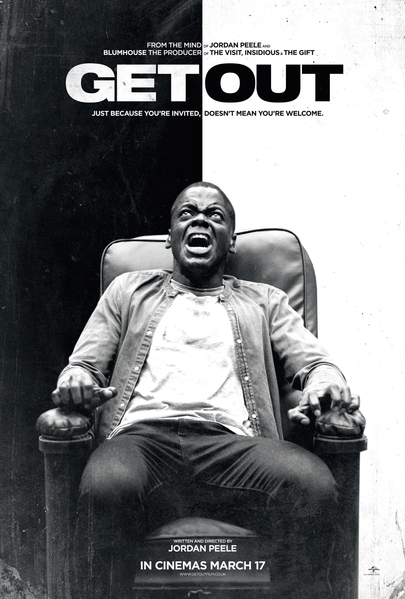 Image result for get out movie poster imdb""