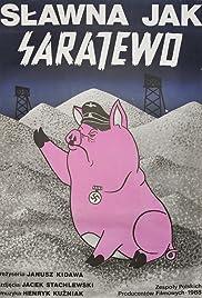 Slawna jak Sarajewo Poster