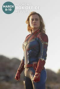 Captain Marvel topped the charts with a record-breaking debut. Here's a rundown of the top performers at the domestic box office for the weekend of March 8 to 10.