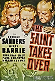 The Saint Takes Over Poster