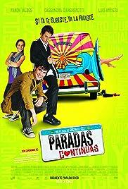 Paradas contínuas Poster
