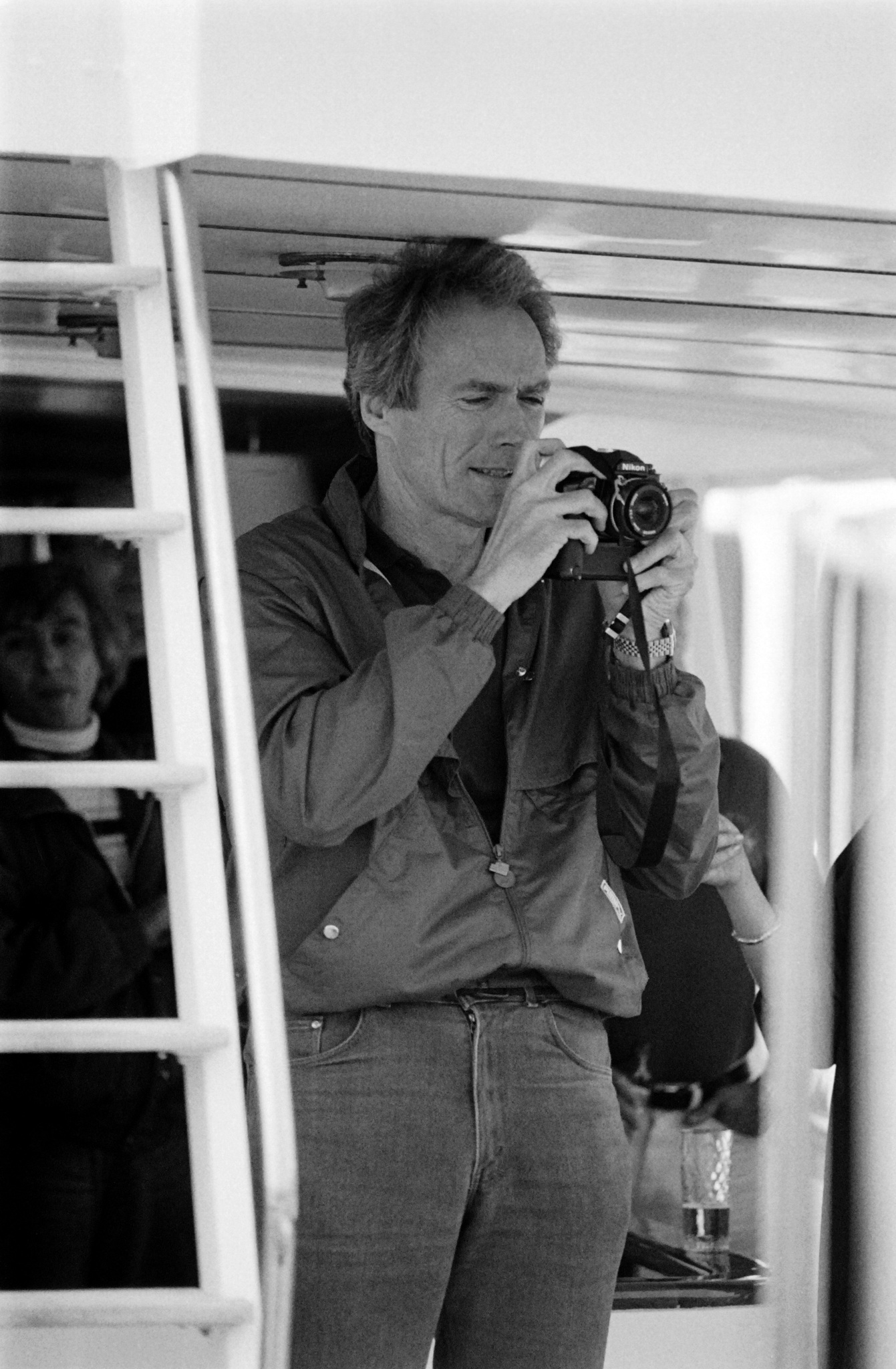 Clint Eastwood at an event for Pale Rider (1985)