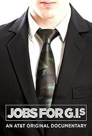 Jobs for G.I.s Poster