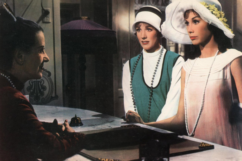 Julie Andrews, Mary Tyler Moore, and Beatrice Lillie in Thoroughly Modern Millie (1967)