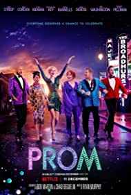Nicole Kidman, Meryl Streep, James Corden, Andrew Rannells, Kerry Washington, and Keegan-Michael Key in The Prom (2020)