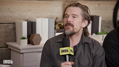 How Ethan Hawke and His Castmates' Musical Backgrounds Kept 'Blaze' Authentic