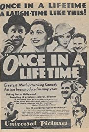 Once in a Lifetime (1932) Poster - Movie Forum, Cast, Reviews