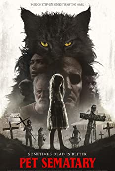 Based on the seminal horror novel by Stephen King, 'Pet Sematary' follows Dr. Louis Creed (Jason Clarke), who, after relocating with his wife Rachel (Amy Seimetz) and their two young children from Boston to rural Maine, discovers a mysterious burial ground hidden deep in the woods near the family's new home. When tragedy strikes, Louis turns to his unusual neighbor, Jud Crandall (John Lithgow), setting off a perilous chain reaction that unleashes an unfathomable evil with horrific consequences.