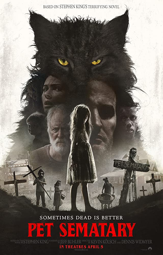 John Lithgow, Jason Clarke, Amy Seimetz, Jeté Laurence, and Hugo Lavoie in Pet Sematary (2019)